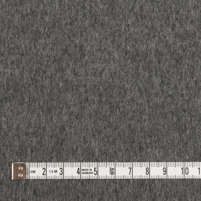 ウール&カシミア×無地(グレー)×ビーバー イメージ4