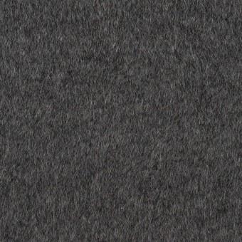アンゴラ&ウール×無地(チャコールグレー)×ビーバー サムネイル1