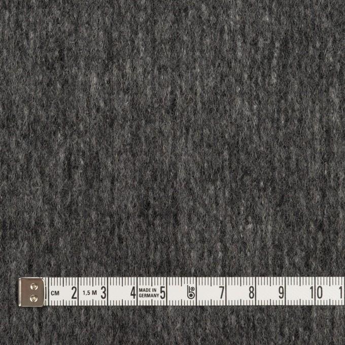 ウール&ナイロン×無地(チャコールグレー)×ツイード イメージ4