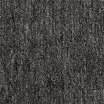 ウール&ナイロン×無地(チャコールグレー)×ツイード