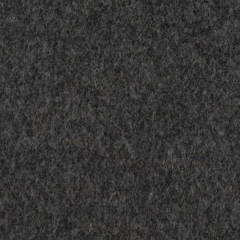 ウール×無地(チャコールグレー)×ソフトメルトン サムネイル1