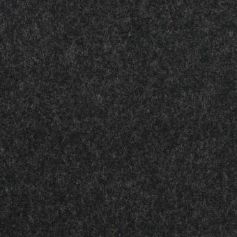 ウール&ポリウレタン×無地(チャコール)×サージストレッチ