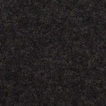 ウール×無地(チャコール)×圧縮ニット
