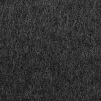 ウール×無地(チャコール)×シャギー サムネイル1