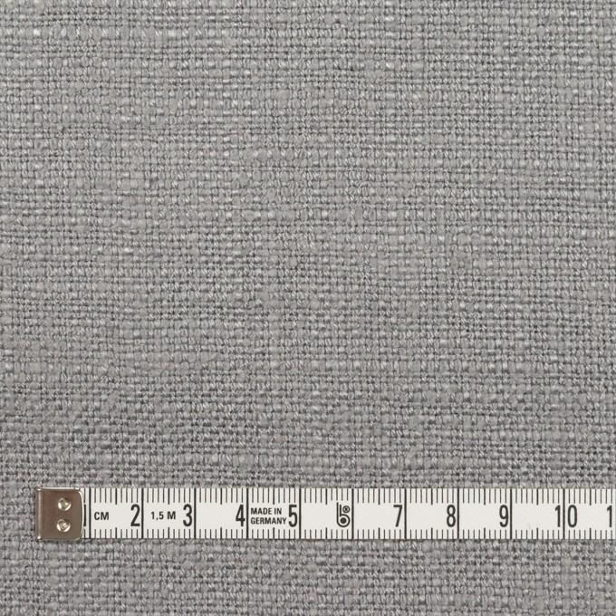 リネン&シルク×無地(スチール)×ソフトキャンバス_全2色 イメージ4