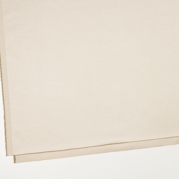 コットン&リネン混×無地(キナリ)×サテンストレッチ_全4色 イメージ2