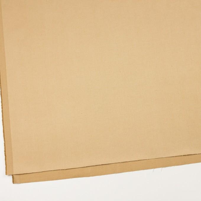 コットン&リネン混×無地(シャンパンゴールド)×サテンストレッチ_全4色 イメージ2