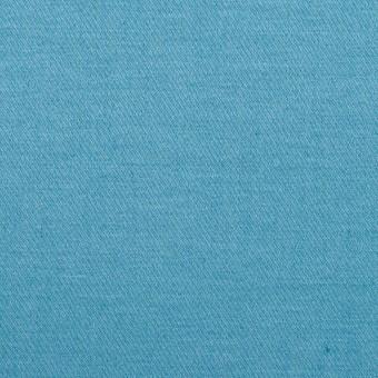 コットン&リネン混×無地(スカイブルー)×サテンストレッチ_全4色 サムネイル1