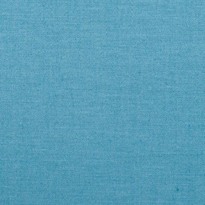 コットン&リネン混×無地(スカイブルー)×サテンストレッチ_全4色 イメージ1