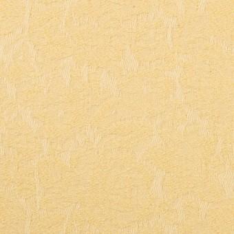 コットン&ポリウレタン×フラワー(カスタード)×ジャガード・ストレッチ サムネイル1