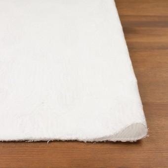 コットン&ナイロン×幾何学模様(ホワイト)×ジャガードニット_全2色 サムネイル3
