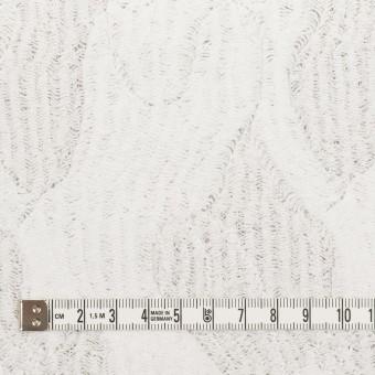 コットン&ナイロン×幾何学模様(ホワイト)×ジャガードニット_全2色 サムネイル4