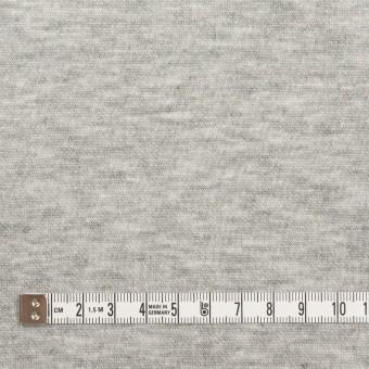 コットン&レーヨン×無地(杢グレー)×裏毛ニット(起毛) サムネイル4