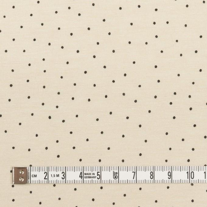 コットン×ドット(キナリ&ブラック)×天竺ニット_全3色 イメージ4