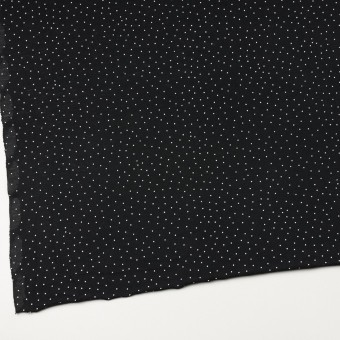 コットン×ドット(ブラック&ホワイト)×天竺ニット_全3色 サムネイル2
