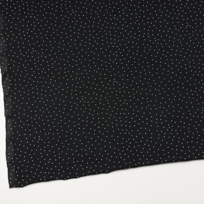 コットン×ドット(ブラック&ホワイト)×天竺ニット_全3色 イメージ2