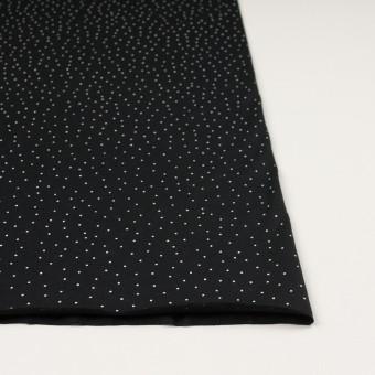 コットン×ドット(ブラック&ホワイト)×天竺ニット_全3色 サムネイル3