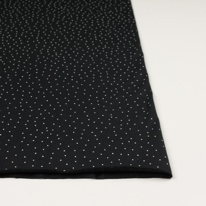コットン×ドット(ブラック&ホワイト)×天竺ニット_全3色 イメージ3