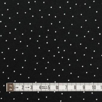 コットン×ドット(ブラック&ホワイト)×天竺ニット_全3色 サムネイル4