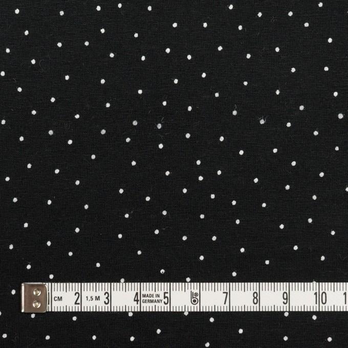 コットン×ドット(ブラック&ホワイト)×天竺ニット_全3色 イメージ4