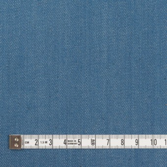 コットン&ポリウレタン×無地(サックスブルー)×デニムストレッチ(10.5oz) サムネイル4