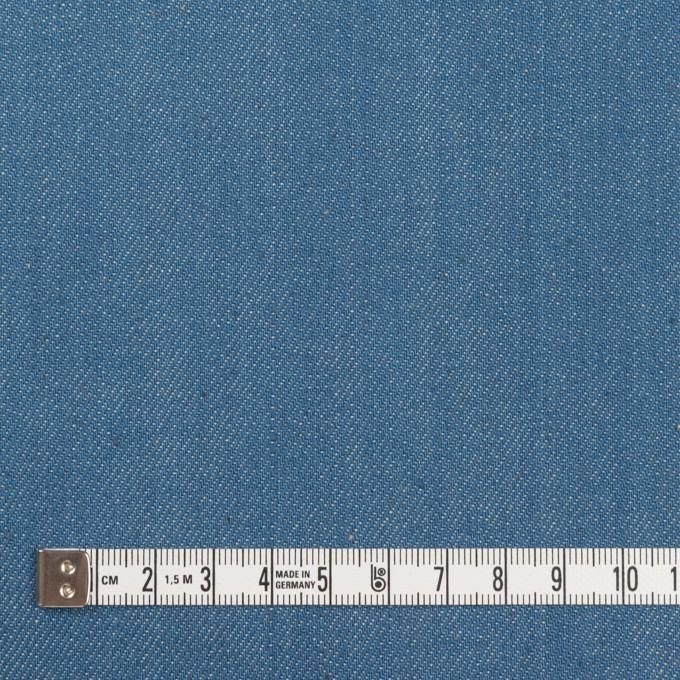 コットン&ポリウレタン×無地(サックスブルー)×デニムストレッチ(10.5oz) イメージ4