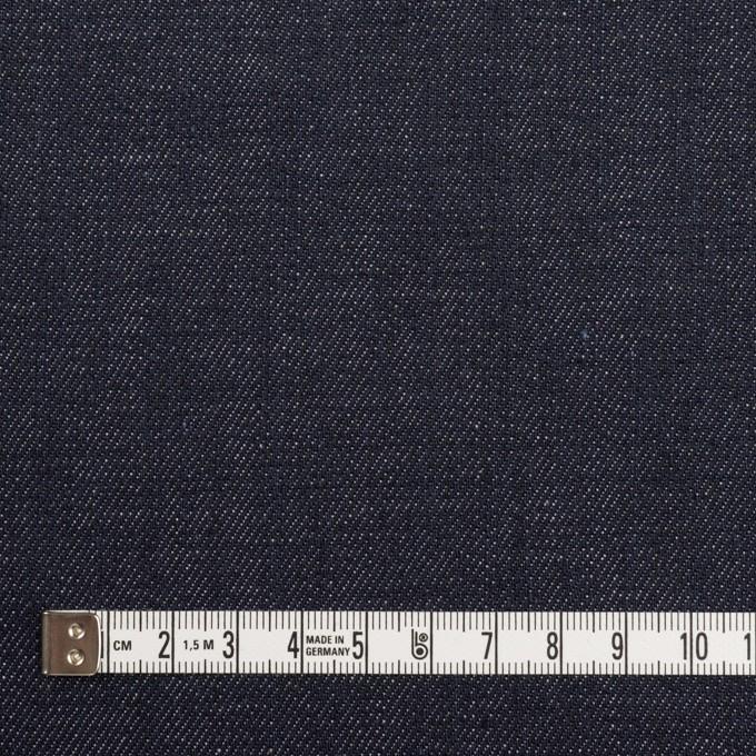 コットン&ポリウレタン×無地(インディゴ)×デニムストレッチ(10oz) イメージ4