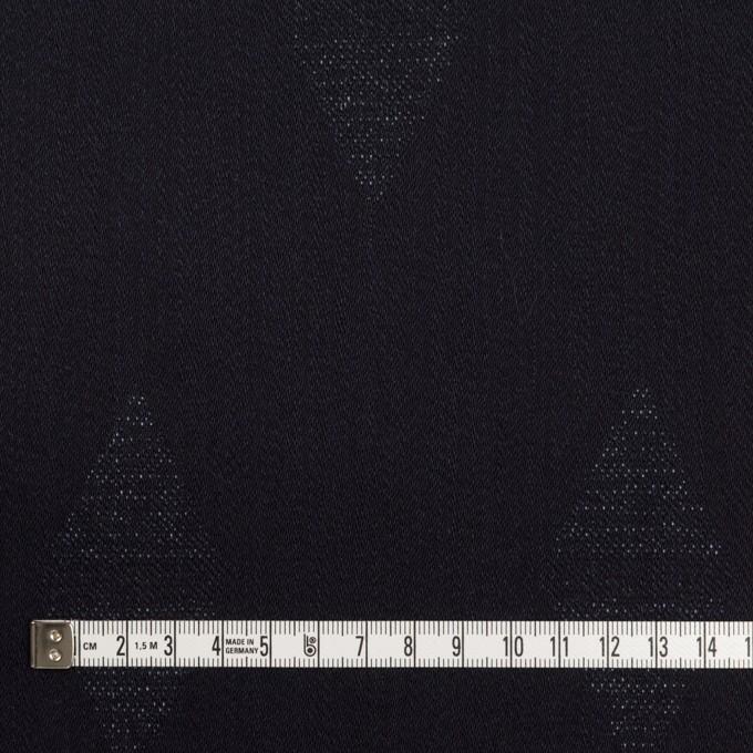 コットン&ポリエステル混×無地(インディゴ)×デニムジャガード・ストレッチ(9.5oz) イメージ4