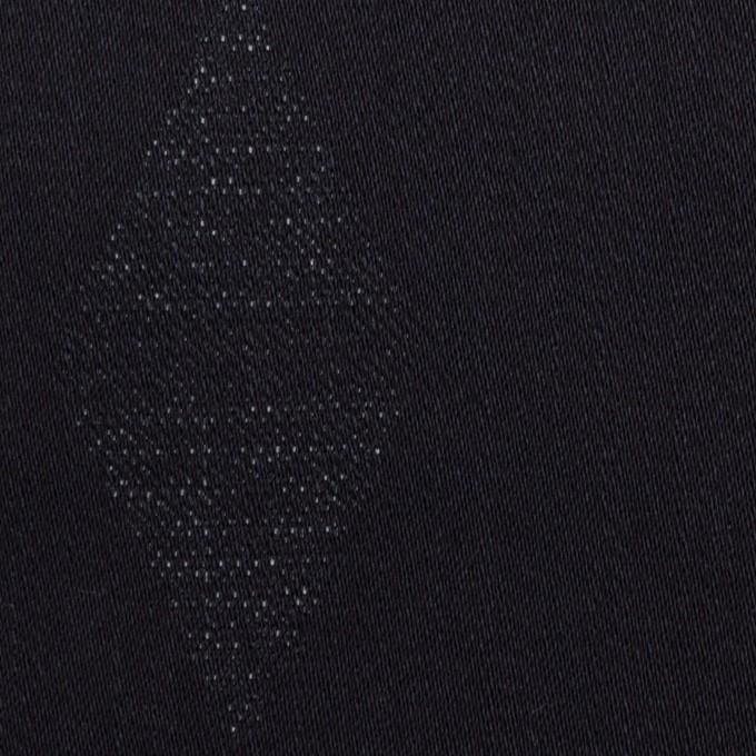 コットン&ポリエステル混×無地(インディゴ)×デニムジャガード・ストレッチ(9.5oz) イメージ1