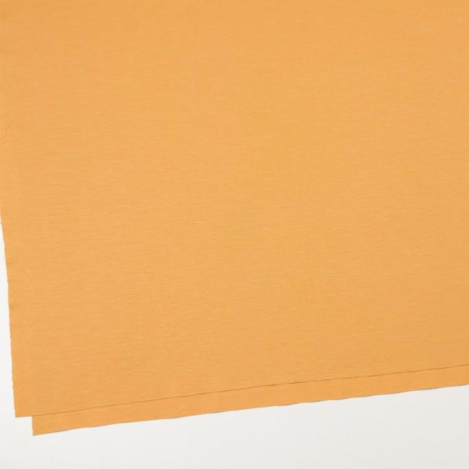 レーヨン&コットン混×無地(マリーゴールド)×スムースニット_全6色 イメージ2
