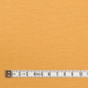 レーヨン&コットン混×無地(マリーゴールド)×スムースニット_全6色 サムネイル4