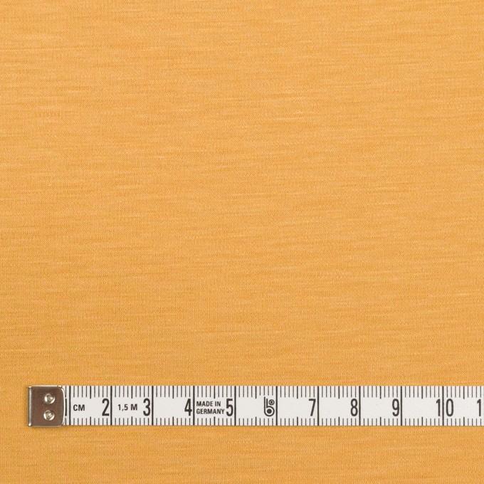 レーヨン&コットン混×無地(マリーゴールド)×スムースニット_全6色 イメージ4