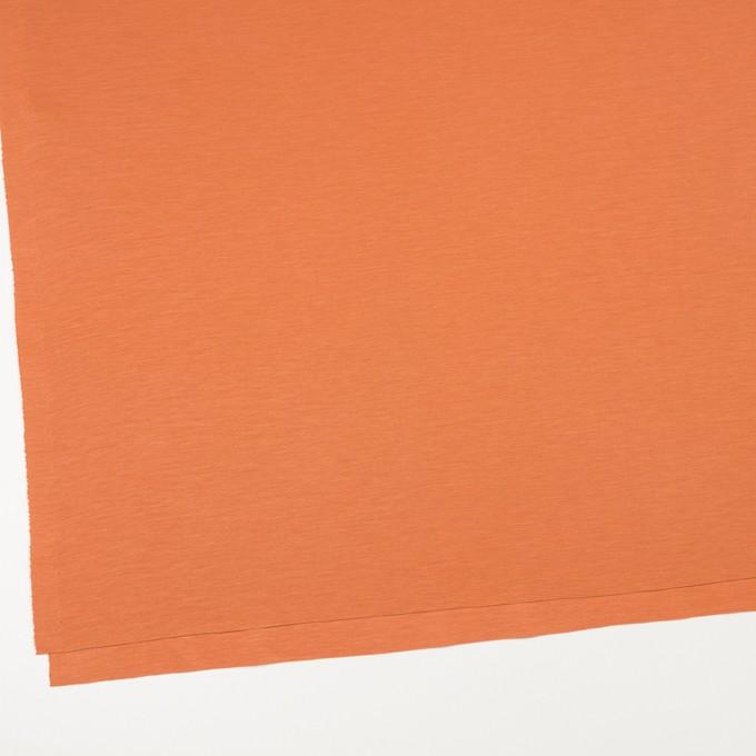 レーヨン&コットン混×無地(キャロット)×スムースニット_全6色 イメージ2