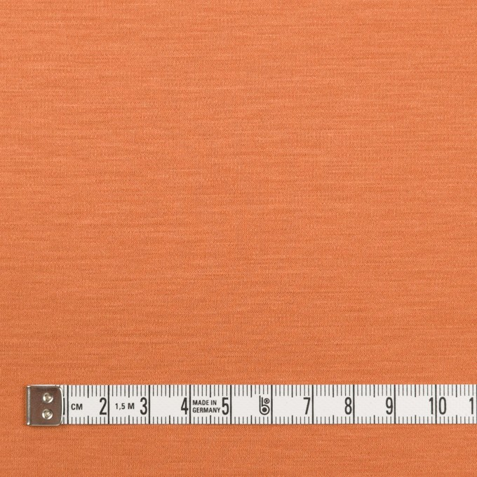 レーヨン&コットン混×無地(キャロット)×スムースニット_全6色 イメージ4