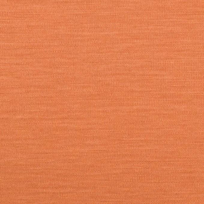 レーヨン&コットン混×無地(キャロット)×スムースニット_全6色 イメージ1