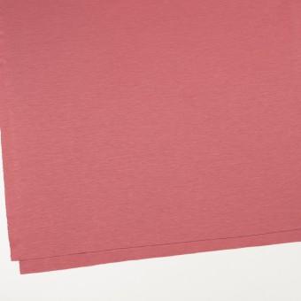 レーヨン&コットン混×無地(コーラルレッド)×スムースニット_全6色 サムネイル2
