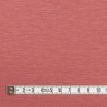 レーヨン&コットン混×無地(コーラルレッド)×スムースニット_全6色 サムネイル4