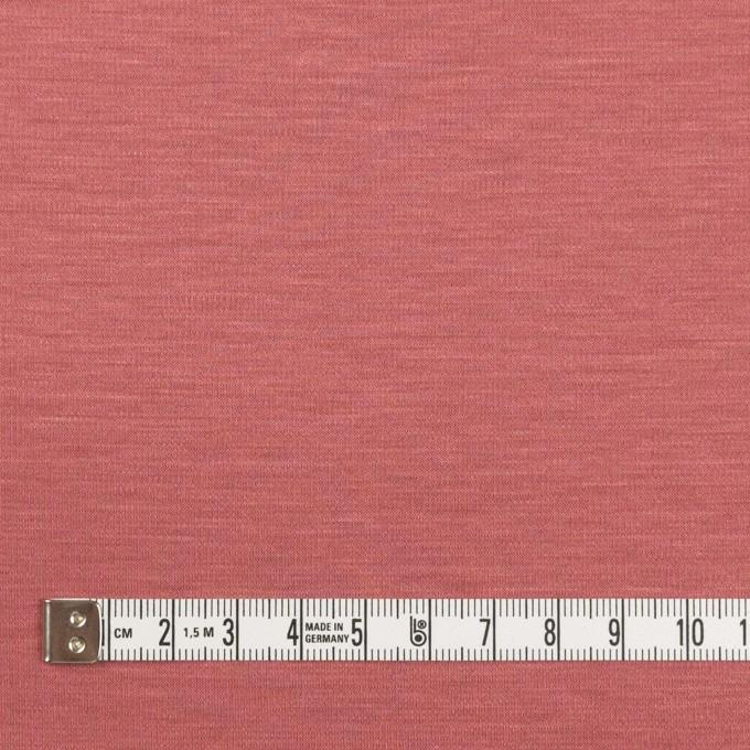 レーヨン&コットン混×無地(コーラルレッド)×スムースニット_全6色 イメージ4