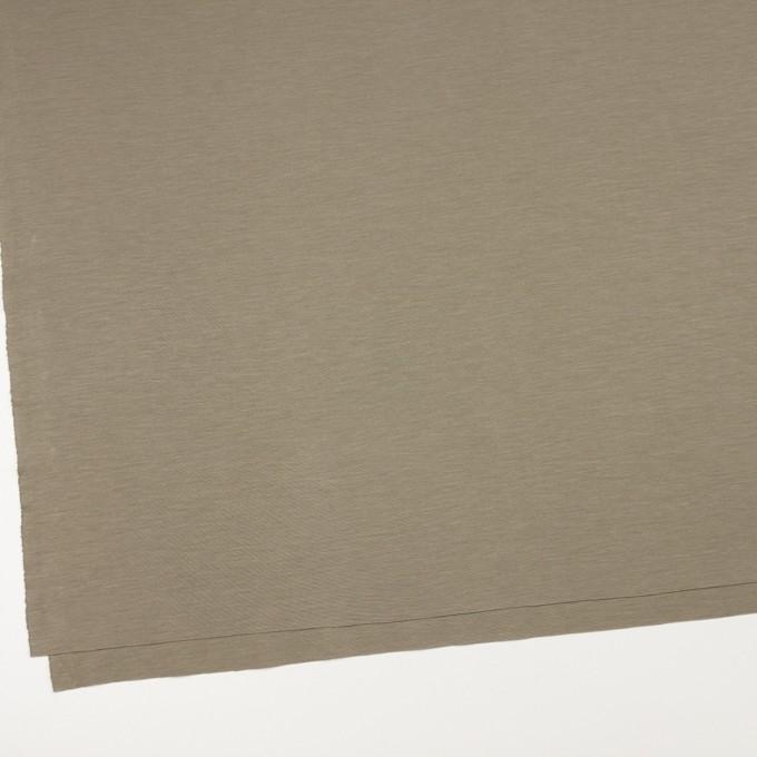 レーヨン&コットン混×無地(アッシュカーキ)×スムースニット_全6色 イメージ2