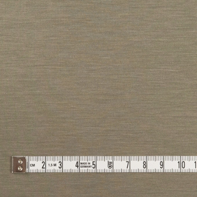 レーヨン&コットン混×無地(アッシュカーキ)×スムースニット_全6色 イメージ4