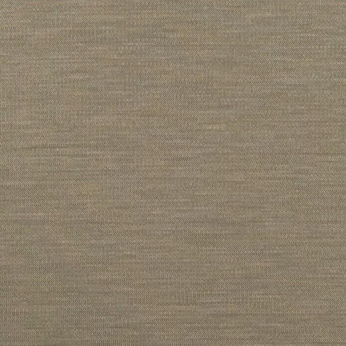 レーヨン&コットン混×無地(アッシュカーキ)×スムースニット_全6色 イメージ1
