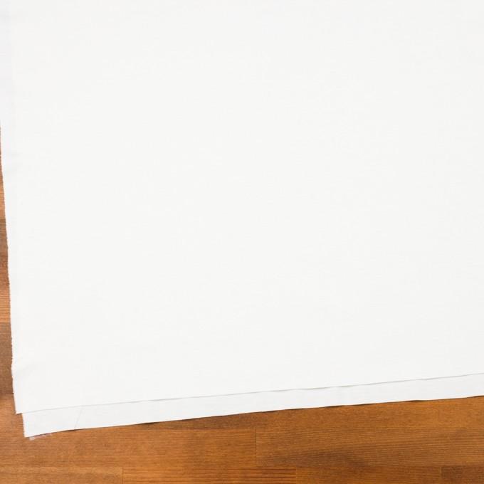 レーヨン&コットン混×無地(オフホワイト)×スムースニット_全6色 イメージ2