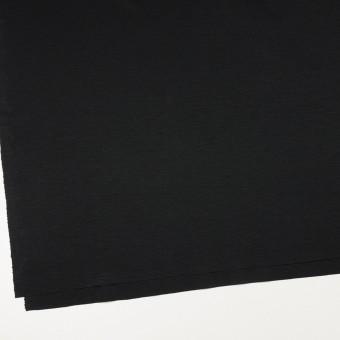 レーヨン&コットン混×無地(ブラック)×スムースニット_全6色 サムネイル2