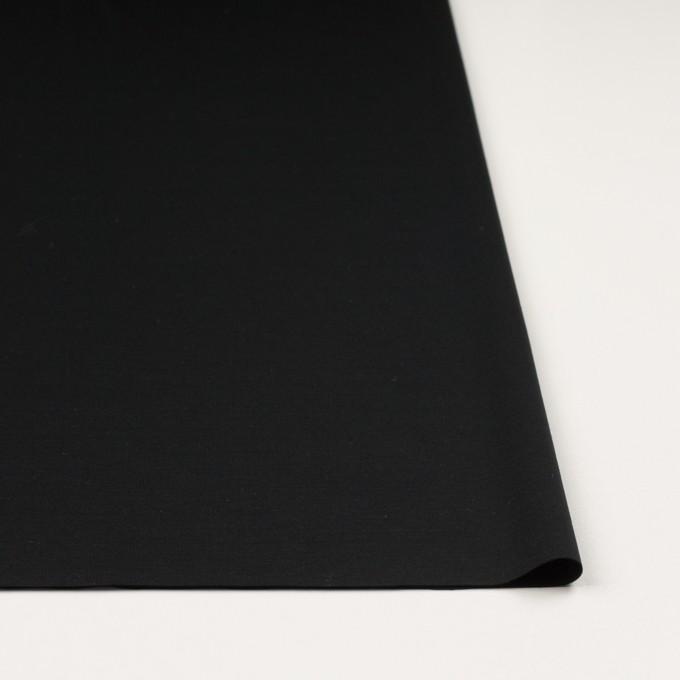 レーヨン&コットン混×無地(ブラック)×スムースニット_全6色 イメージ3