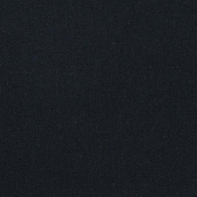コットン×無地(ダークネイビー)×シーチング・ワッシャー_全2色 イメージ1