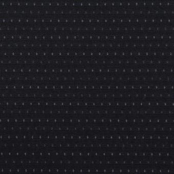 コットン×ドット(ブラック)×ブロードドビー