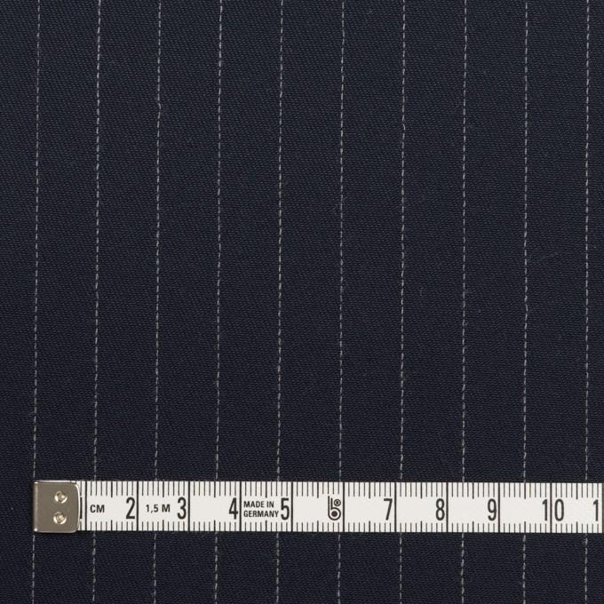 コットン×無地&ストライプ(ダークネイビー)×チノクロス イメージ6