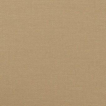 コットン&ポリウレタン×無地(カーキベージュ)×チノクロス・ストレッチ サムネイル1