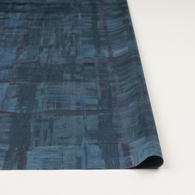 ポリエステル×ペイント(ブルー)×タフタ_全3色 イメージ3