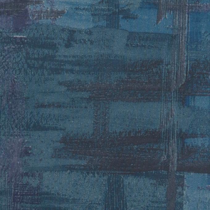 ポリエステル×ペイント(ブルー)×タフタ_全3色 イメージ1